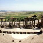 世界遺産ドゥッガの劇場跡