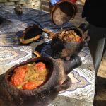 ラクダの肉の壷に込み料理
