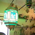 チュニジア伝統工芸館、ランプ