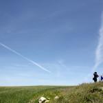 世界遺産ドゥッガへ続く途中の穀倉地帯