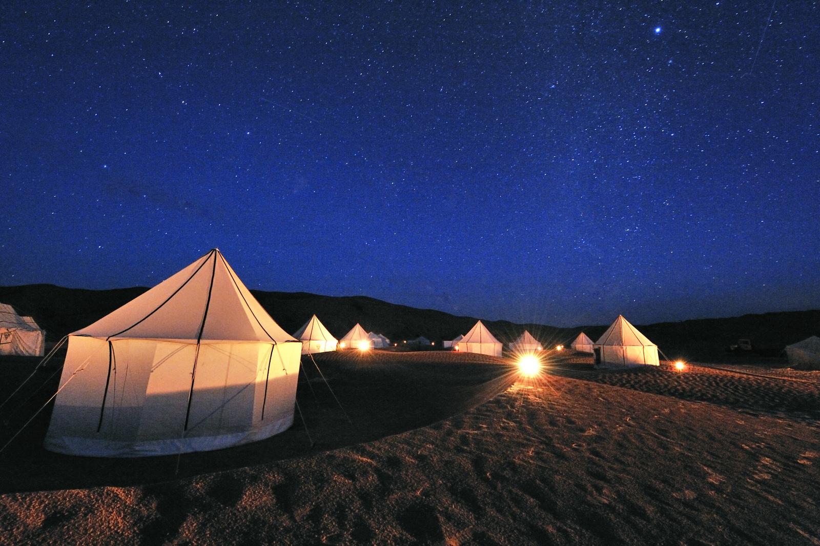 キャンプマルスの夜