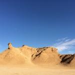 美しい奇岩のラクダ岩。