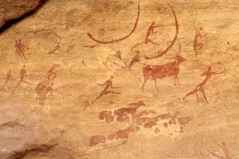 リビアのタドラス・アカクスの壁画