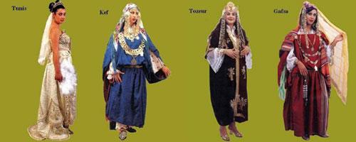17754550bf73c チュニジア各地の式典や結婚式での伝統衣装